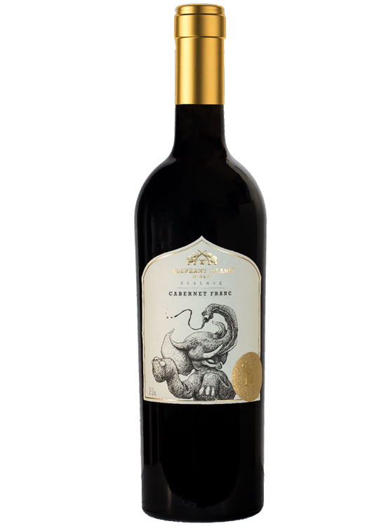 Bottle of Elephant Island Reserve Cabernet Franc