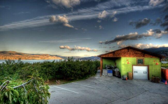 Elephant Island winery buildings