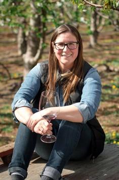 Lauren at Elephant Island winery